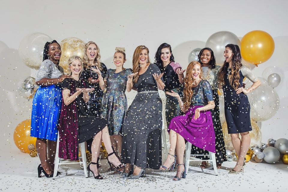 LuLaRoe Elegant Collection Group Shot