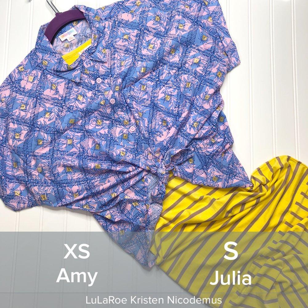 LuLaRoe Amy Outfit