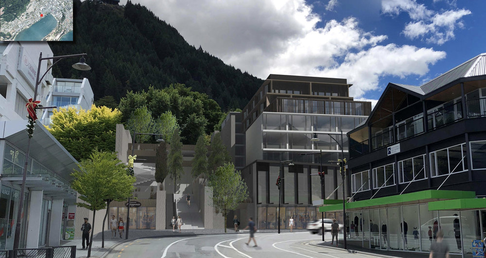 Proposed Hotel Shotover Street - Queenstown