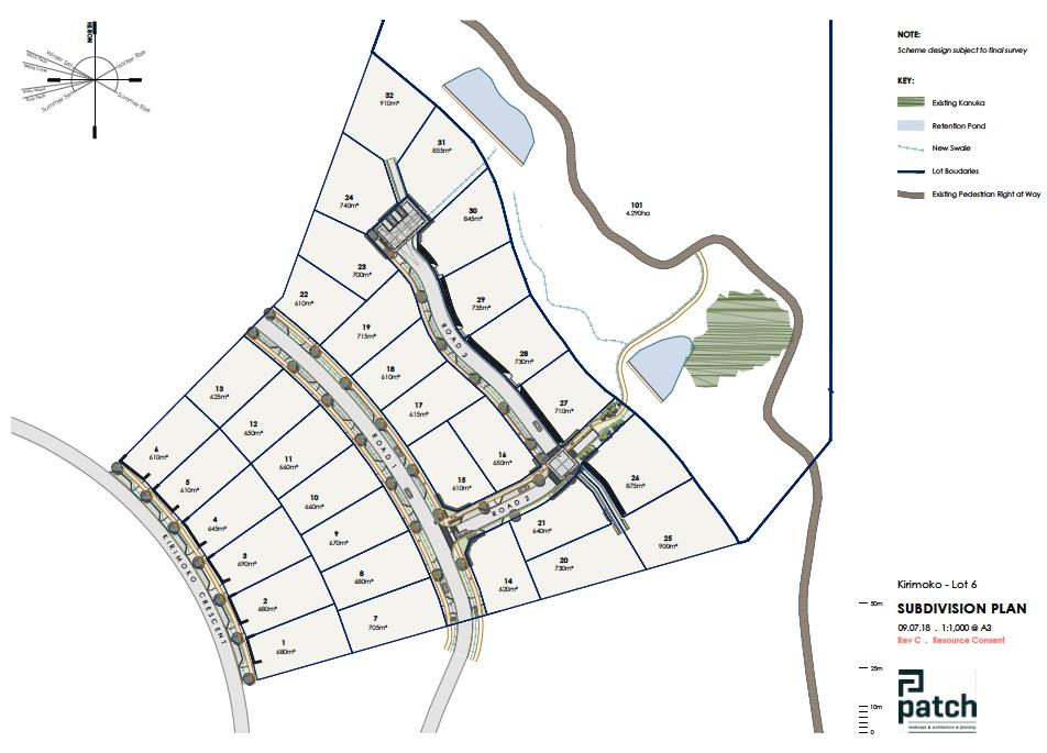 Subdivison Design - Kirimoko summit edition - wanaka