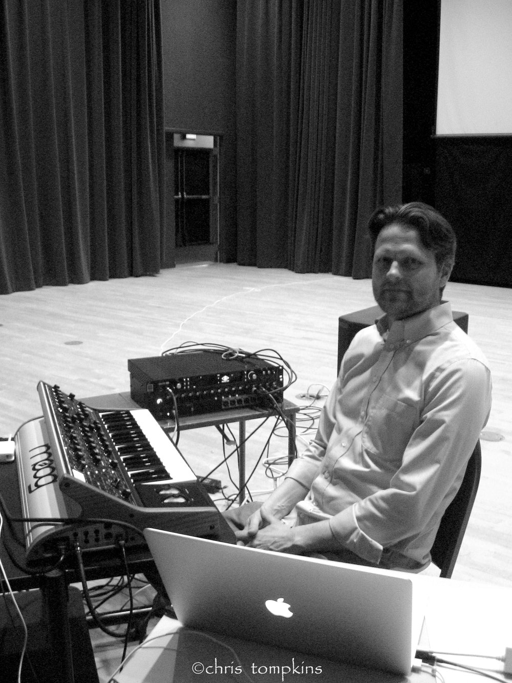 _ - Ben Sabey is a composer of chamber, orchestral and electronic music, lately specializing in analog synthesis and live computer interactivity in eight channels.