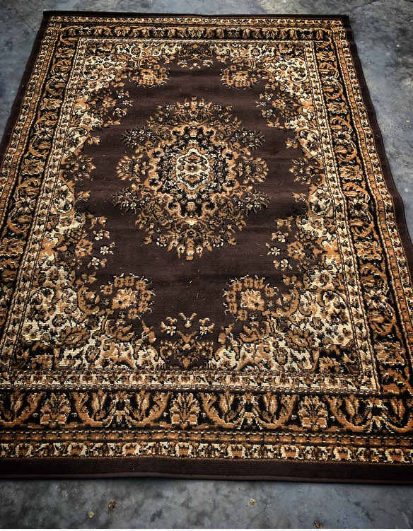 Mocha Persian Rug  1.6m x 2.3m  $40
