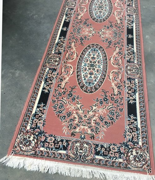 Pale Pink Persian Runner  5.8m long  $60