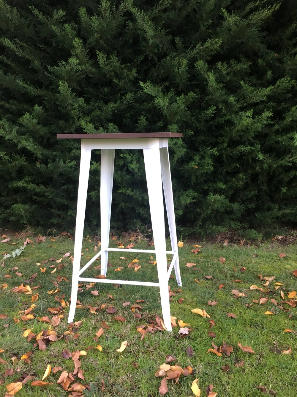 White Bar Table  Qty- 6  $35 each