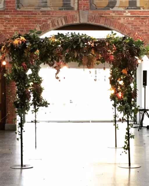 Mesh Arbour (flowers and foliage not included)  $120