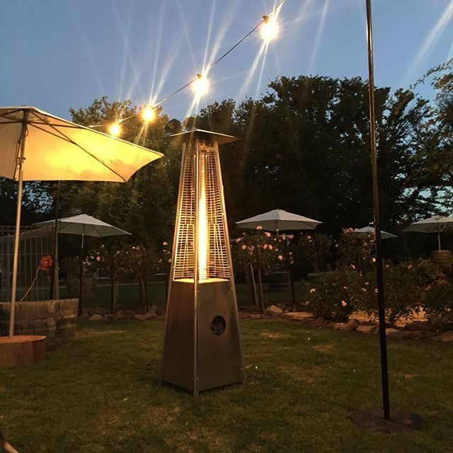 Patio Heater  Qty-2  Without gas bottle $70  With gas bottle $100