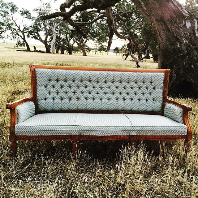 Vintage 3 Seater Lounge  $130  Qty- 1