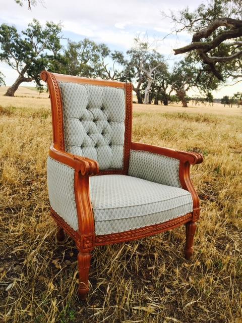 Vintage Armchair  $70  Qty-2
