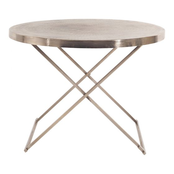 Metal Coffee Table  H 49cm x 71.5cm round  Qty- 1