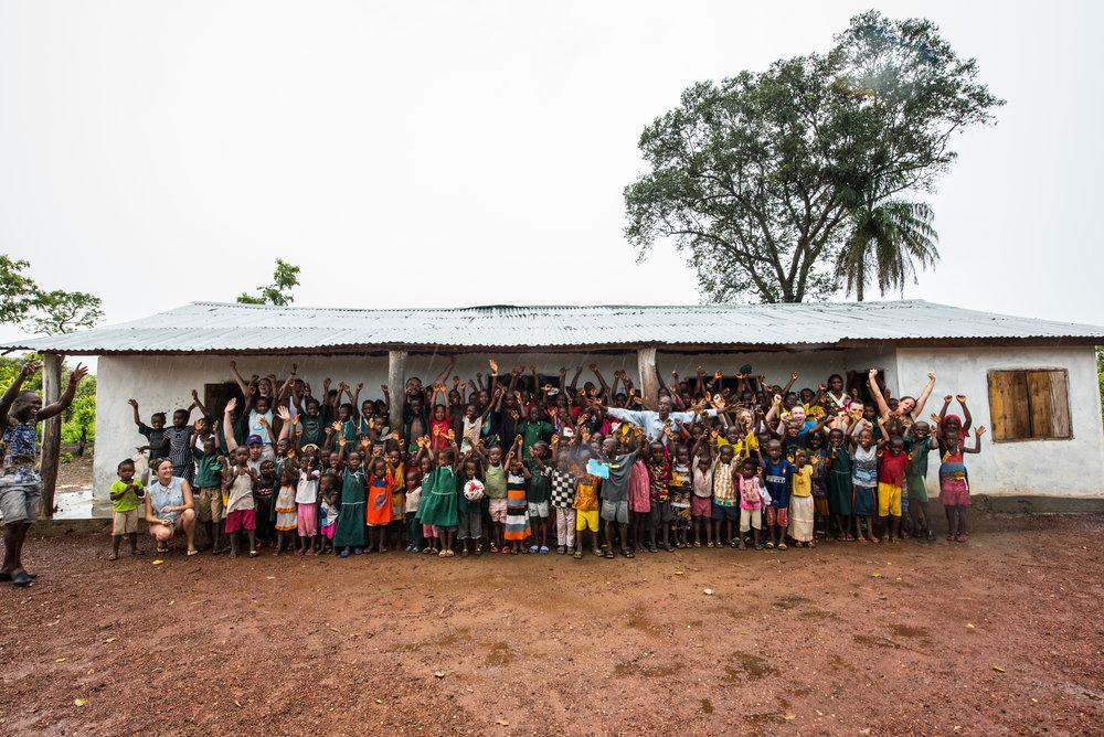 école en Sierra Leone