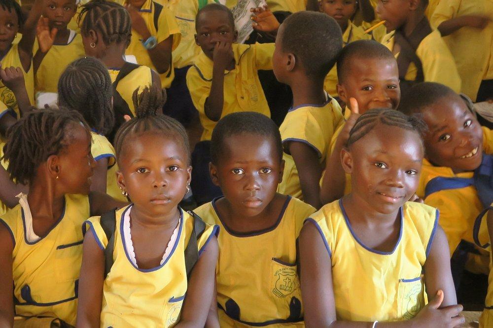 Enfants Sierra Leone