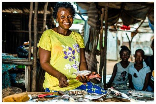 100€ -mise en place d' un petit commerce familial assurant la scolarité des enfants.