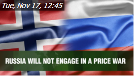 "Watch   Thierry Bros on dukascopy.com:""Russia will not engage in a price war"", 17 November 2015"