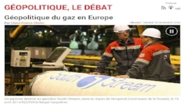 "Listen   to Thierry Bros on Radio France International, in Geopolitique, le Débat ""Géopolitique du gas en Europe"", 26 November 2016"