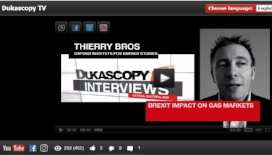 "Watch Thierry Bros on Dukascopy TV:""Brexit Impact On Gas Marketss"", 16 February 2017"