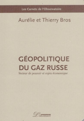 """  Géopolitique du gaz russe""     Shortlisted for best 2018 book of geopolitics  December 2017"