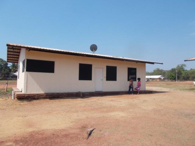 A refurbished shelter