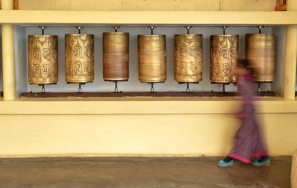 Travel Photography bells monk