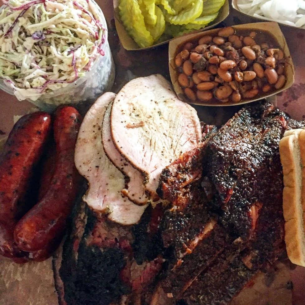 The finest barbecue known to humanity at Franklin, Austin TX