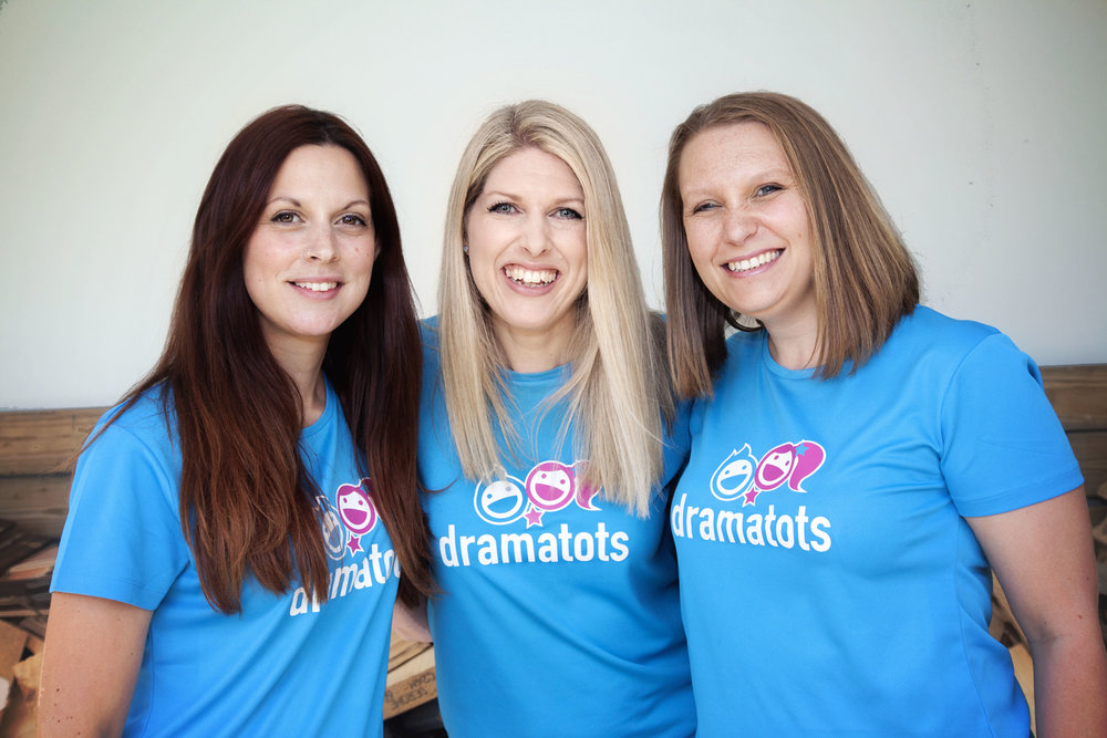 Faye, Leanne and Helen - We are the Drama Tots Coventry team. We take nursery sessions, weekly classes and parties.