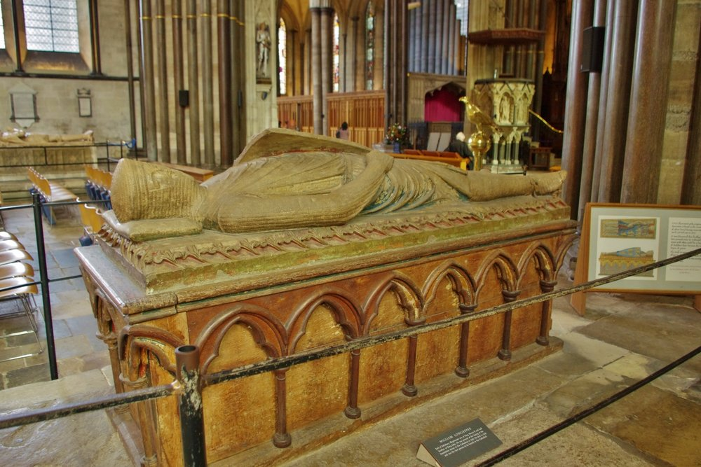 William Longspee's Tomb Salisbury Cathedral