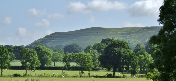 hambledon hill with iron age fortifications