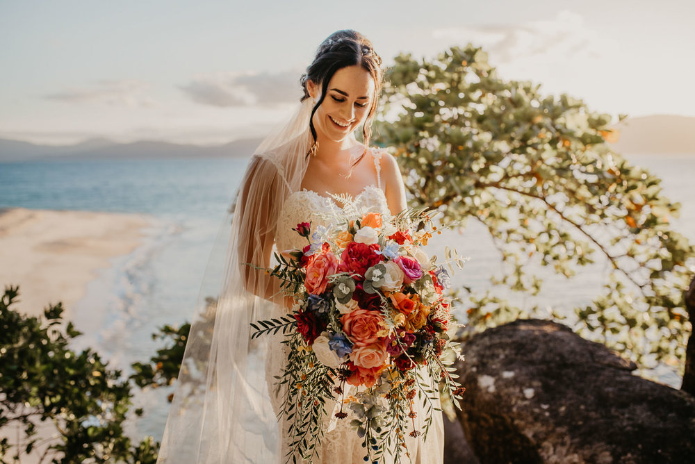 The Raw Photographer - Cairns Wedding Photographer - Fitzroy Island - Destination Wedding - Bride Dress - Groom Portrait - Queensland-35.jpg