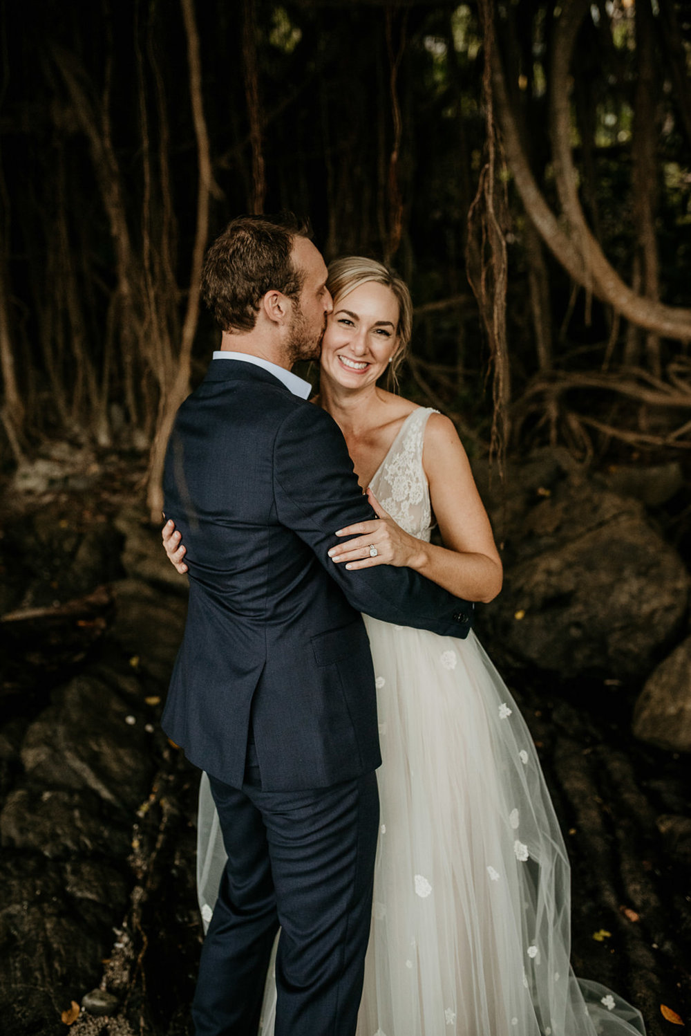 The Raw Photographer - Cairns Wedding Photographer - Port Douglas Little Cove Ceremony- Beach Wedding Photography - Bride Wedding Dress - Sugar Wharf Venue Reception-24.jpg
