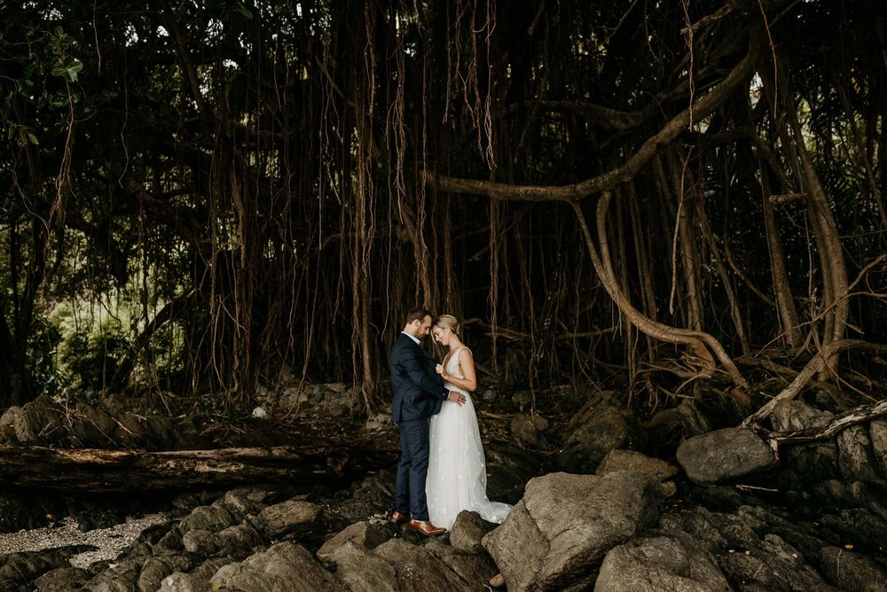The Raw Photographer - Cairns Wedding Photographer - Port Douglas Little Cove Ceremony- Beach Wedding Photography - Bride Wedding Dress - Sugar Wharf Venue Reception-25.jpg