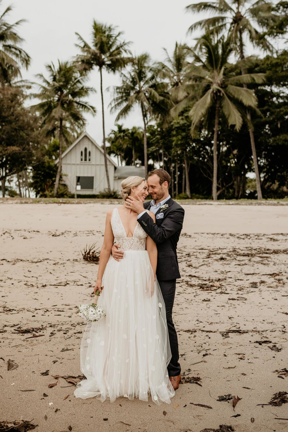 The Raw Photographer - Cairns Wedding Photographer - Port Douglas Little Cove Ceremony- Beach Wedding Photography - Bride Wedding Dress - Sugar Wharf Venue Reception-36.jpg