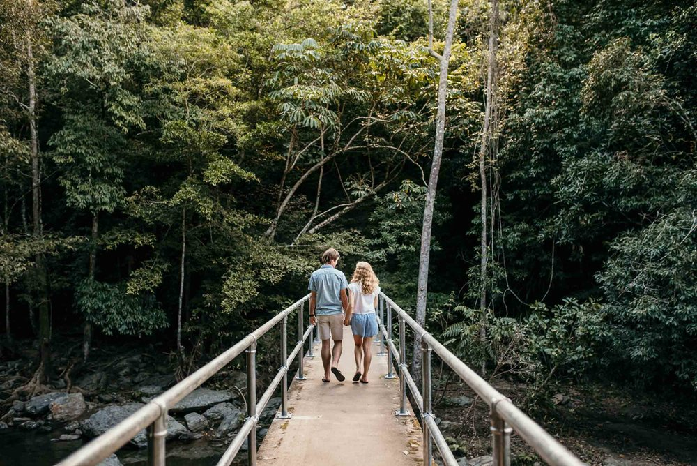 The Raw Photographer - Cairns Wedding Photographer - Rainforest Engaged Engagement- Couple Session Photos - Engaged Price - Stoney Creek Queensland-1.jpg