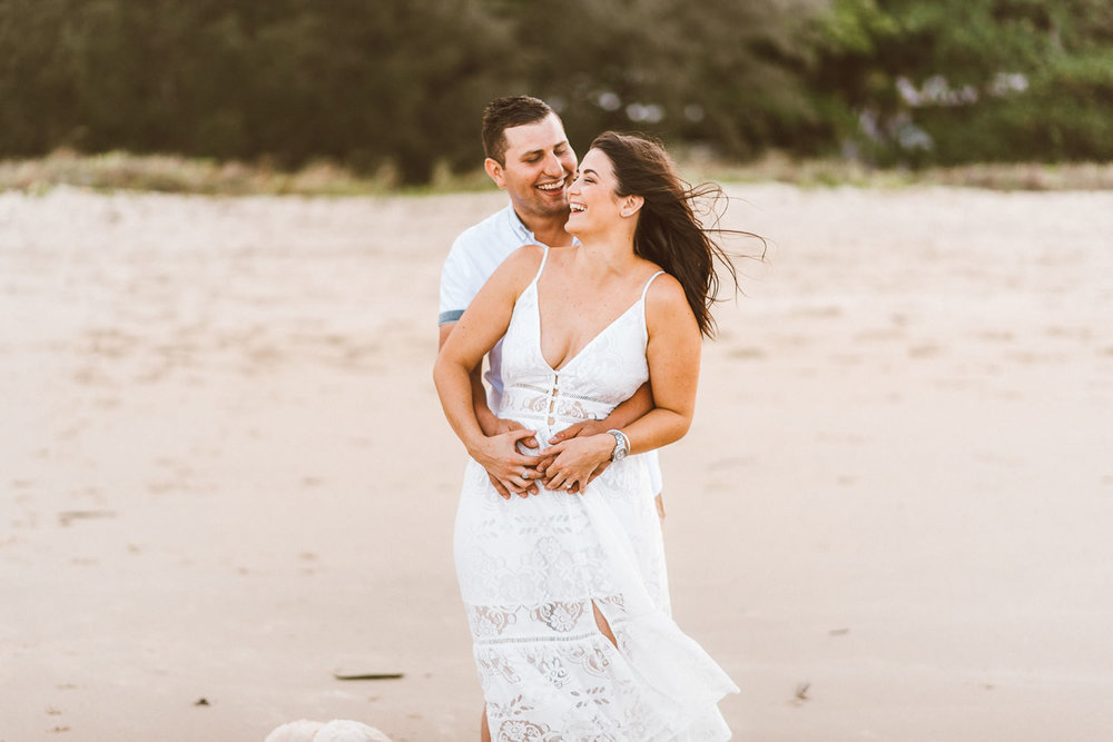 The Raw Photographer - Cairns Wedding Photographer - Beach Engagement- Couple Session Photos - Engaged Price - Yorkeys Knob Queensland - Adrian + Mel-15.jpg