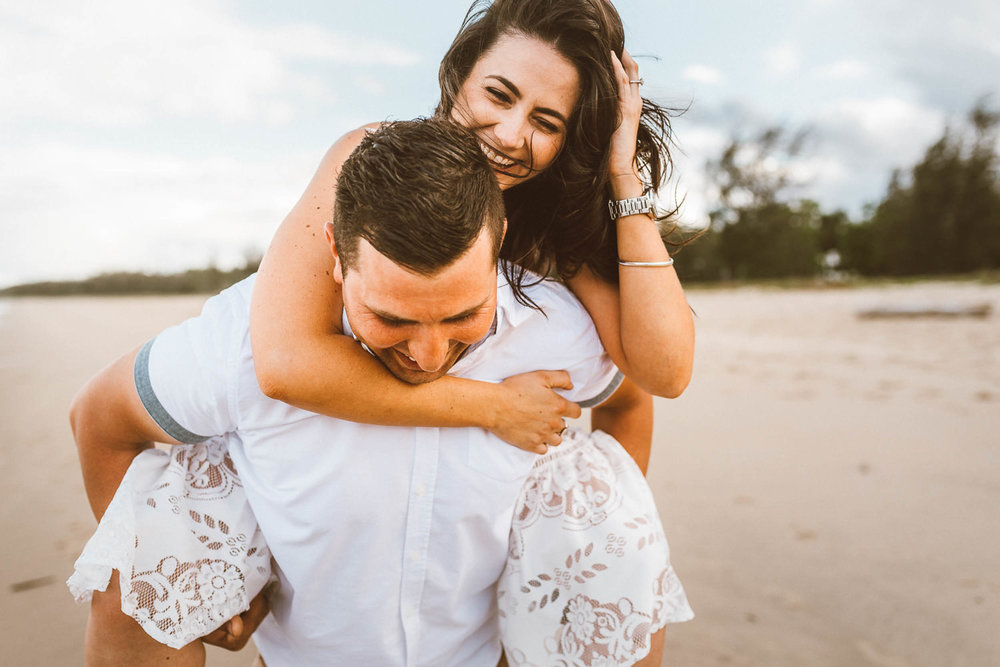 The Raw Photographer - Cairns Wedding Photographer - Beach Engagement- Couple Session Photos - Engaged Price - Yorkeys Knob Queensland - Adrian + Mel-20.jpg