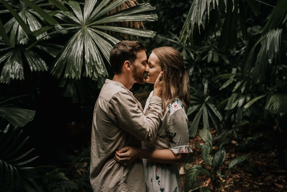The Raw Photographer - Wedding Photographer - Botanical Gardens Engagement- Couple Session Photos in Cairns - Engaged Price - Rainforest Queensland - photoshoot-8.jpg
