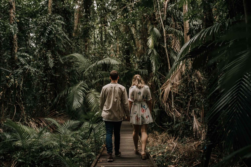 The Raw Photographer - Wedding Photographer - Botanical Gardens Engagement- Couple Session Photos in Cairns - Engaged Price - Rainforest Queensland - photoshoot-10.jpg