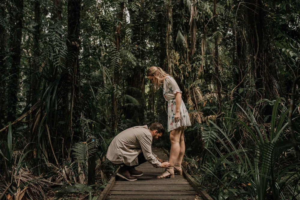 The Raw Photographer - Wedding Photographer - Botanical Gardens Engagement- Couple Session Photos in Cairns - Engaged Price - Rainforest Queensland - photoshoot-11.jpg