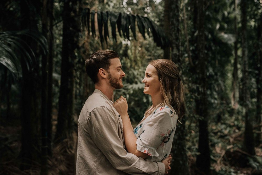 The Raw Photographer - Wedding Photographer - Botanical Gardens Engagement- Couple Session Photos in Cairns - Engaged Price - Rainforest Queensland - photoshoot-12.jpg