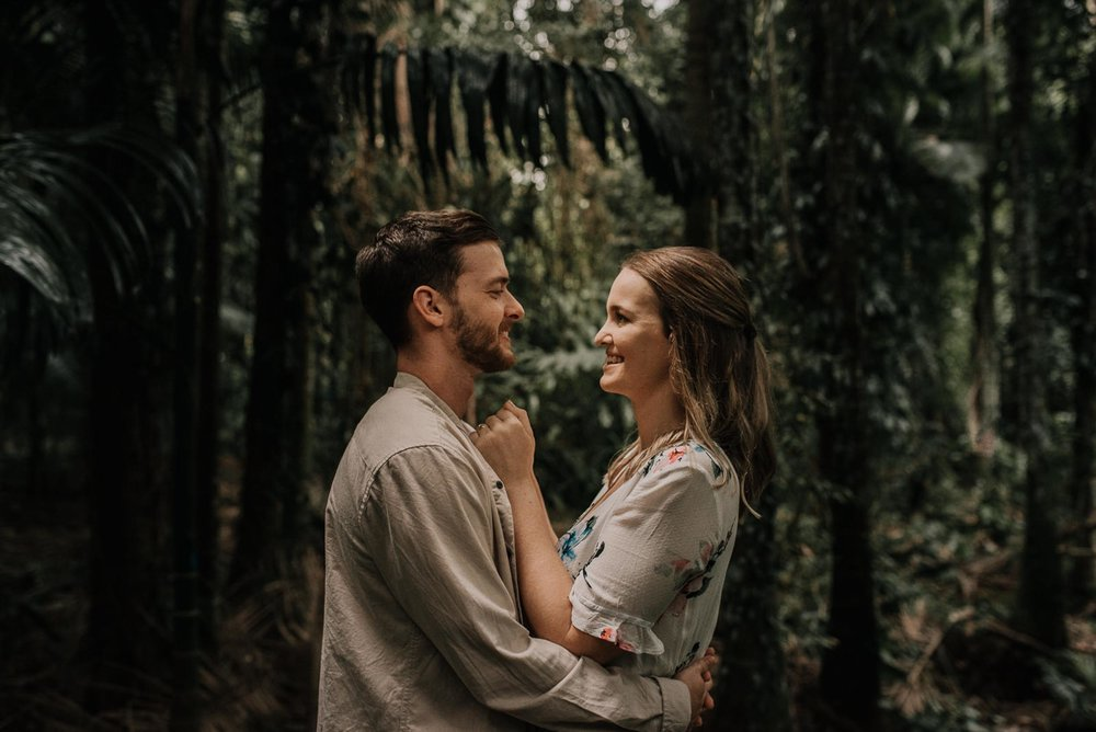 The Raw Photographer - Wedding Photographer - Botanical Gardens Engagement- Couple Session Photos in Cairns - Engaged Price - Rainforest Queensland - photoshoot-13.jpg