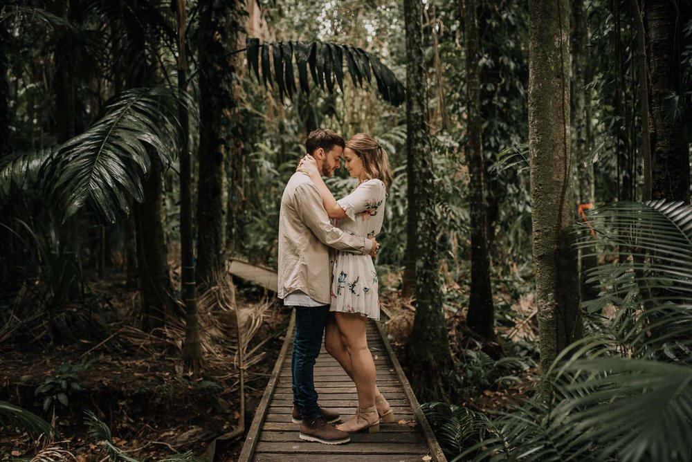 The Raw Photographer - Wedding Photographer - Botanical Gardens Engagement- Couple Session Photos in Cairns - Engaged Price - Rainforest Queensland - photoshoot-14.jpg