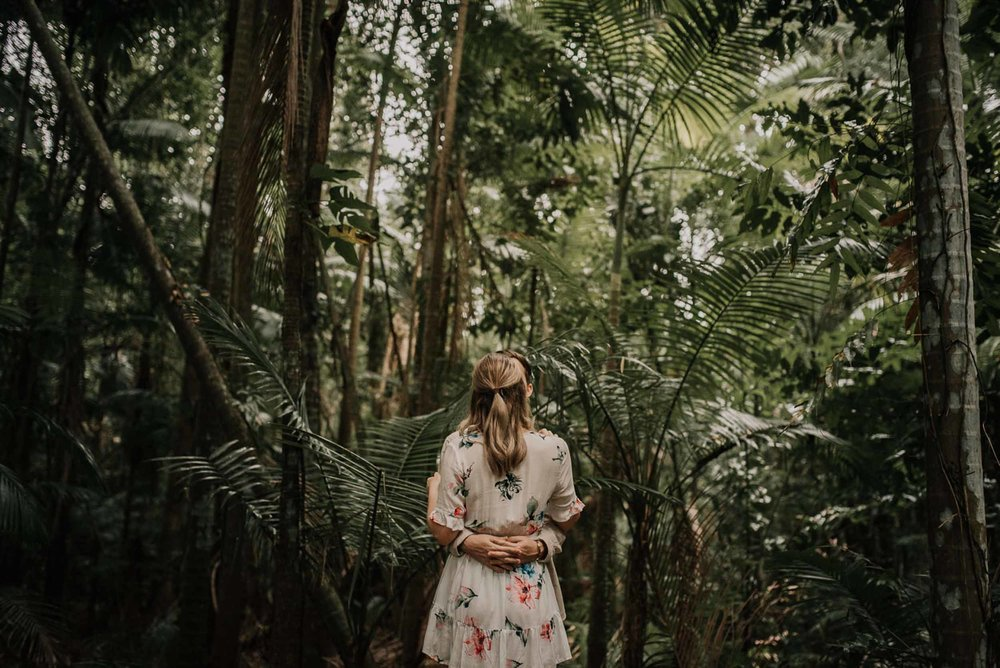 The Raw Photographer - Wedding Photographer - Botanical Gardens Engagement- Couple Session Photos in Cairns - Engaged Price - Rainforest Queensland - photoshoot-15.jpg