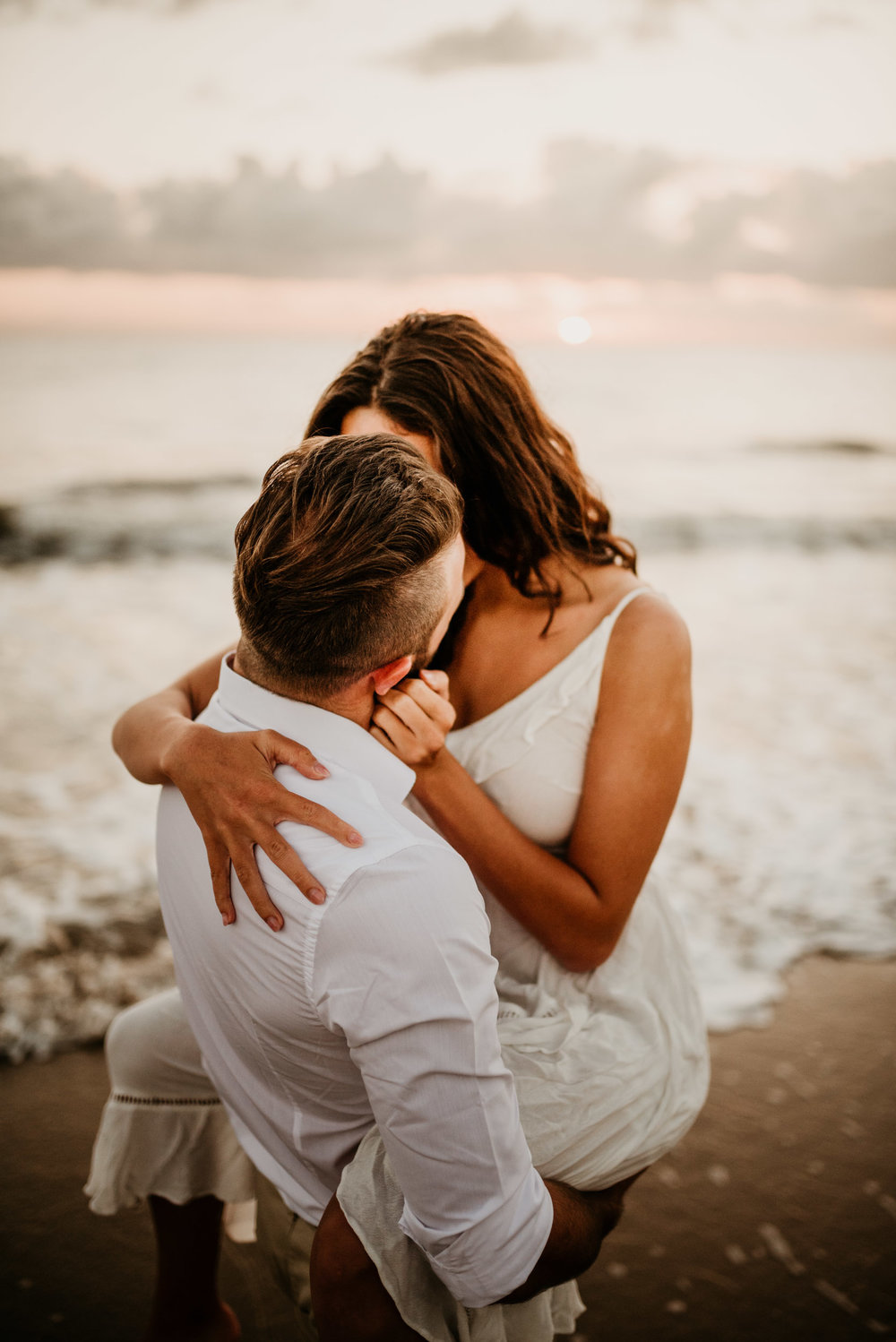 The Raw Photographer - Cairns Wedding Photographer - Engaged Engagement - Beach location - Candid Photography Queensland-7.jpg