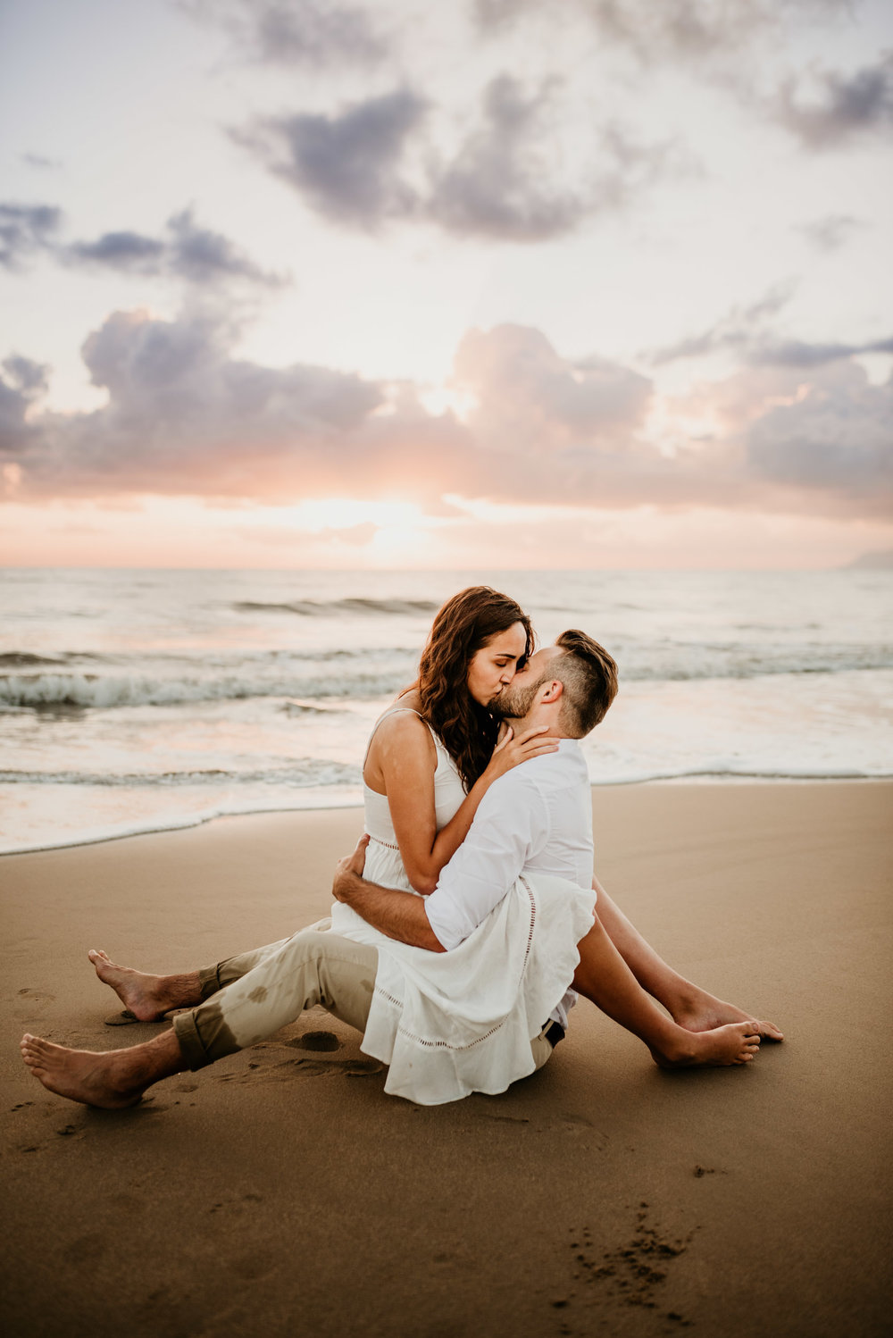 The Raw Photographer - Cairns Wedding Photographer - Engaged Engagement - Beach location - Candid Photography Queensland-14.jpg