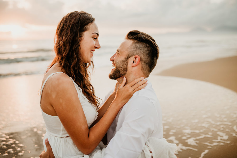 The Raw Photographer - Cairns Wedding Photographer - Engaged Engagement - Beach location - Candid Photography Queensland-15.jpg