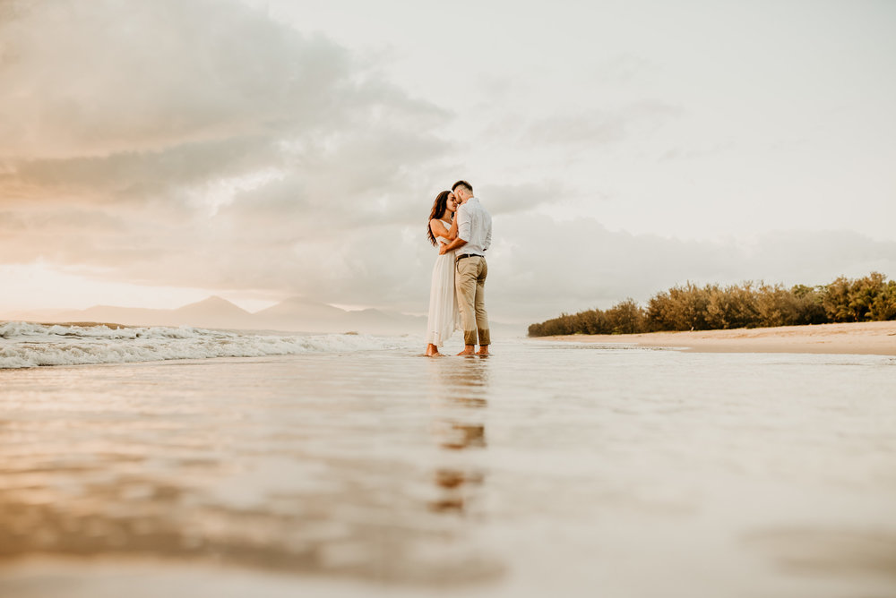 The Raw Photographer - Cairns Wedding Photographer - Engaged Engagement - Beach location - Candid Photography Queensland-27.jpg