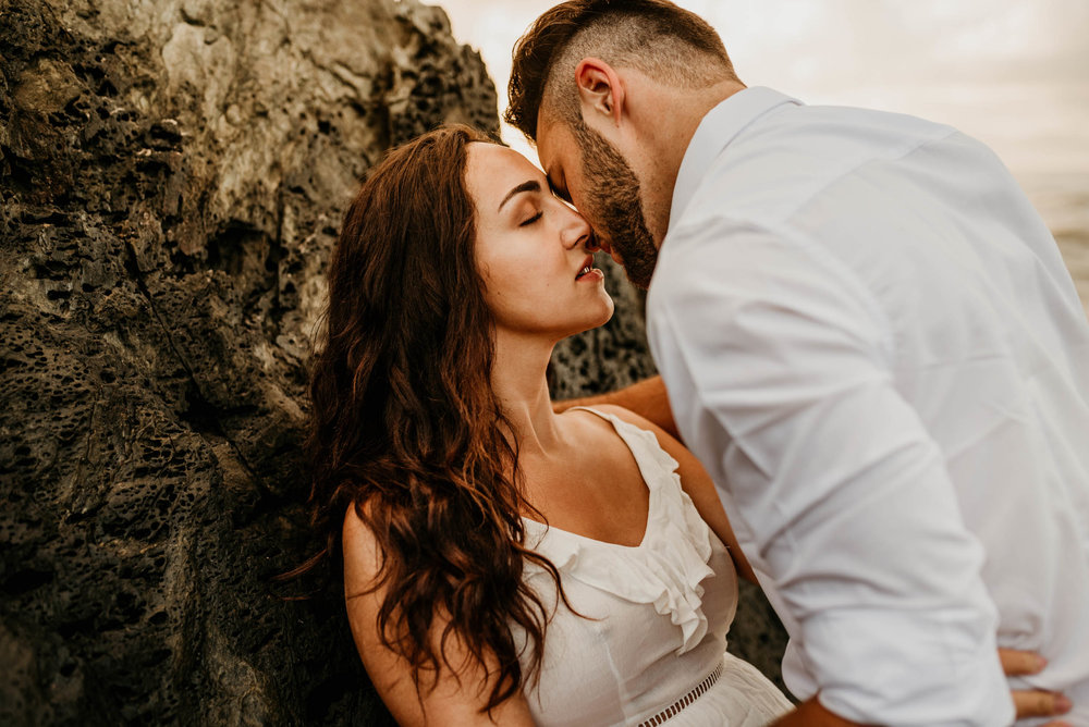 The Raw Photographer - Cairns Wedding Photographer - Engaged Engagement - Beach location - Candid Photography Queensland-29.jpg