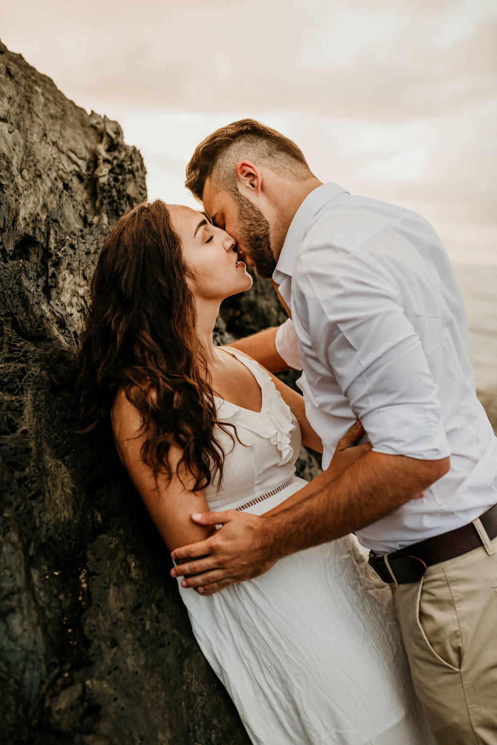 The Raw Photographer - Cairns Wedding Photographer - Engaged Engagement - Beach location - Candid Photography Queensland-30.jpg