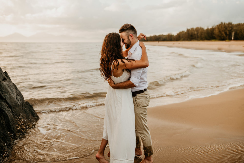 The Raw Photographer - Cairns Wedding Photographer - Engaged Engagement - Beach location - Candid Photography Queensland-33.jpg