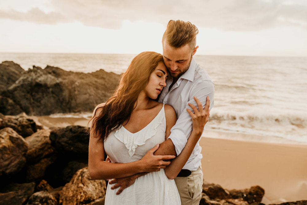 The Raw Photographer - Cairns Wedding Photographer - Engaged Engagement - Beach location - Candid Photography Queensland-34.jpg