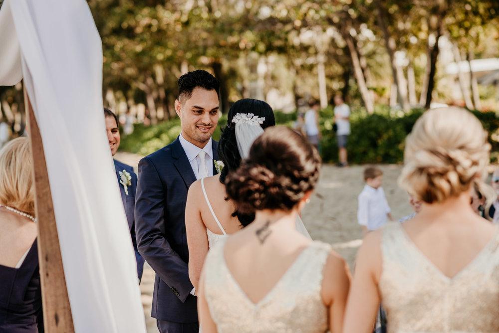 The Raw Photographer - Cairns Wedding Photographer - Beach Palm Cove Ceremony - Dress Irene Costa's Devine Bridal - Queensland-34.jpg