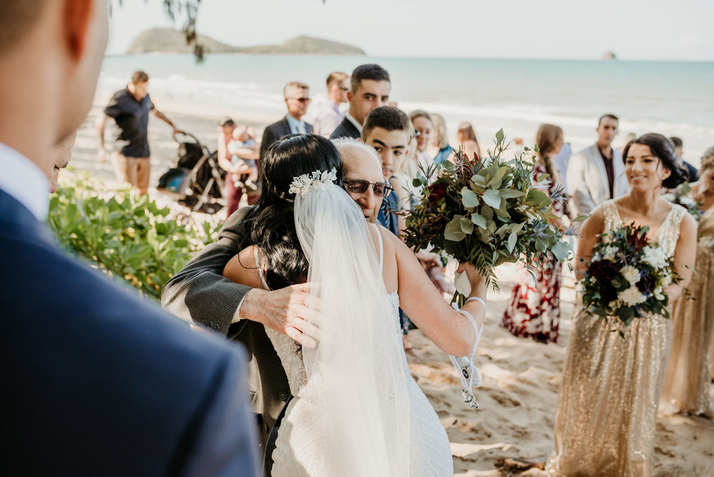 The Raw Photographer - Cairns Wedding Photographer - Beach Palm Cove Ceremony - Dress Irene Costa's Devine Bridal - Queensland-37.jpg